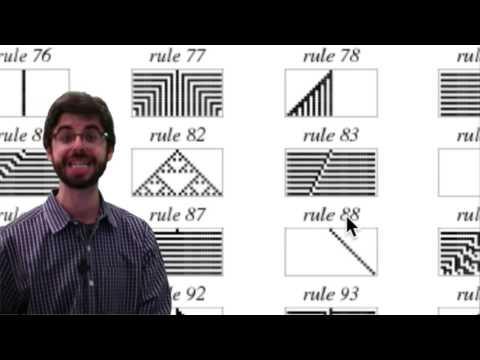 7.2: Wolfram Elementary Cellular Automata - The Nature of Code