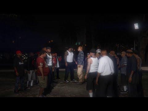 Mexican & Black Gangs [GTA 5] 4K