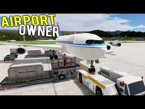 OWN YOUR OWN GIGANTIC MULTI MILLION DOLLAR AIRPORT! - Airport Simulator 2019 Gameplay
