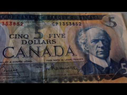 Billetes de $2-$5 Canada