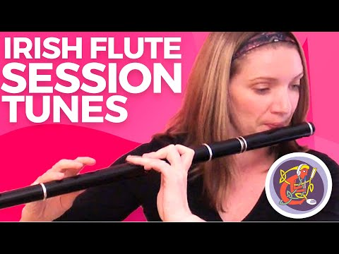 Irish Flute Lesson: Cuts + Fishermans Slip Jig with Kirsten Allstaff  WWWOAIMIE Tutorials