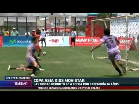 Central CMD: Finales de la Copa Asia Kids Movistar 2016