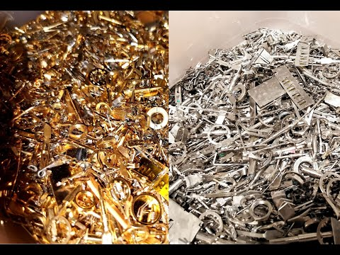 Low-grade material - Gold recovery by stripping agent