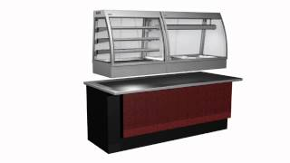 Cossiga - Counter Series (c4) | Food Display Cabinets / Cases