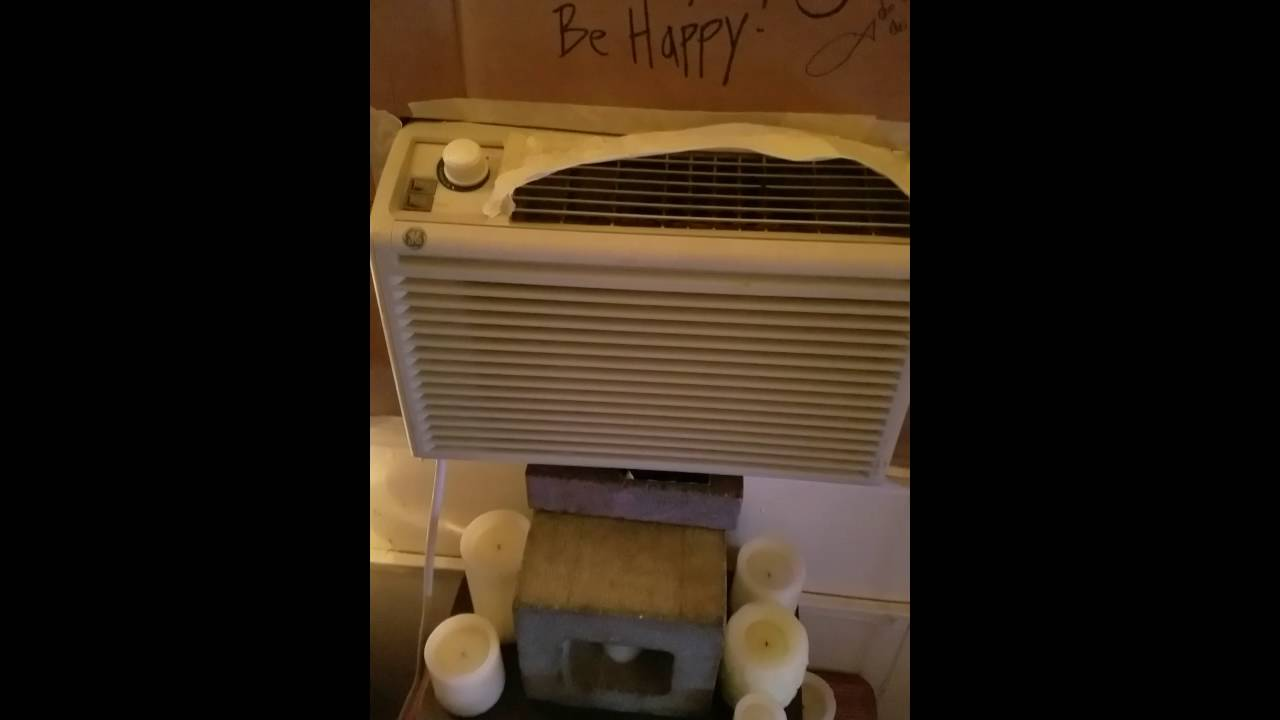 Ac Unit Installed In Casement Or Crank Out Window Cheap