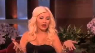 Christina Aguilera Explains Her National Anthem Flub on Ellen Show