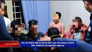 Khởi tố 5 người tổ chức cho hàng trăm du khách Việt bỏ trốn ở Đài Loan (VOA)