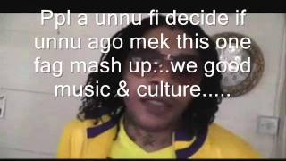Vybz Kartel is one Fag.....long time we a tell people!!! (GazaGoneLuu Special Report)