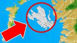 갑자기 나타난 움직이는 거대한 섬