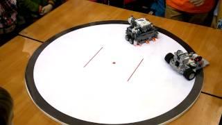 Lego Robotica2015 - лего-роботы: битва СУМО