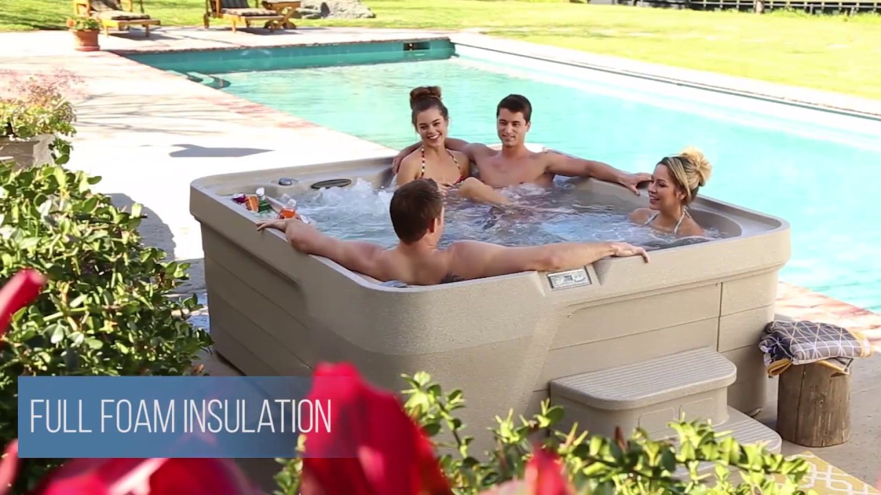 Freeflow Spas 5-Person Excursion Hot Tub - YouTube