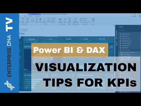 Visualization Tips For Key Business Performance Indicators & Trends - Analysis w/Power BI