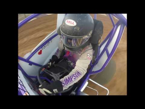 Path Valley Speedway Wingless Sportsman in car camera