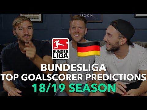 Bundesliga Top Goalscorer Predictions 2018/2019