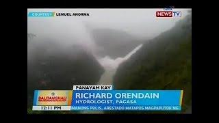 Panayam kay Richard Orendain, hydrologist, PAGASA