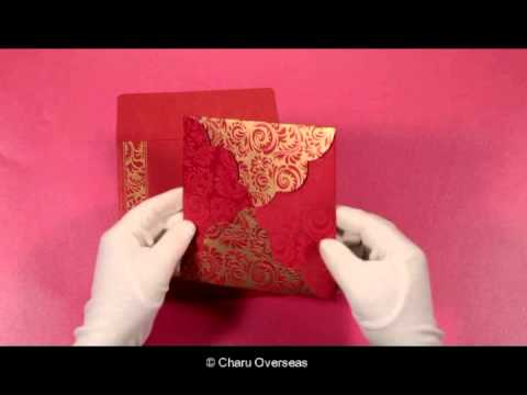 Designer Wedding Invitations | CD-8235C | IndianWeddingCards
