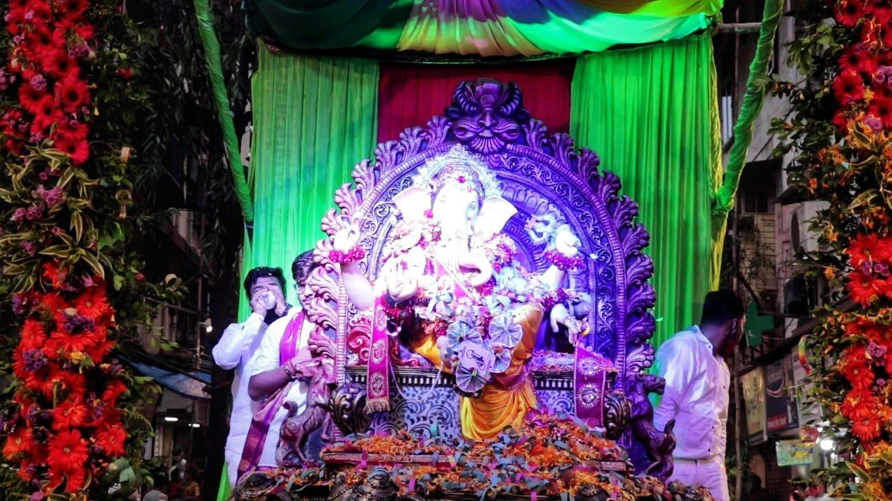 Umarkhadi cha Raja Visarjan 2020 | उमरखाडीचा राजा विसर्जन २०२० | Mumbai Attractions | Vimal Shah