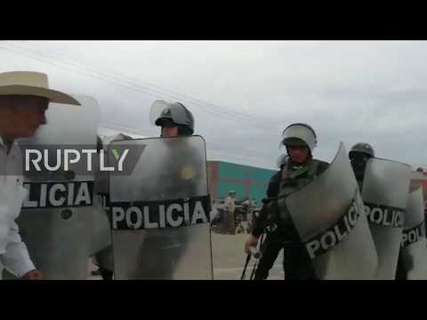 Peru: Protesters clash with police as farmers strike turns violence in Chiclayo