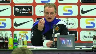löwen.tv • Pressekonferenz - KSV Hessen Kassel - TuS Koblenz