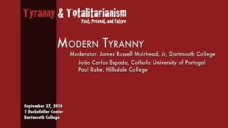Tyranny & Totalitarianism Past, Present & Future:  The Past: The Present