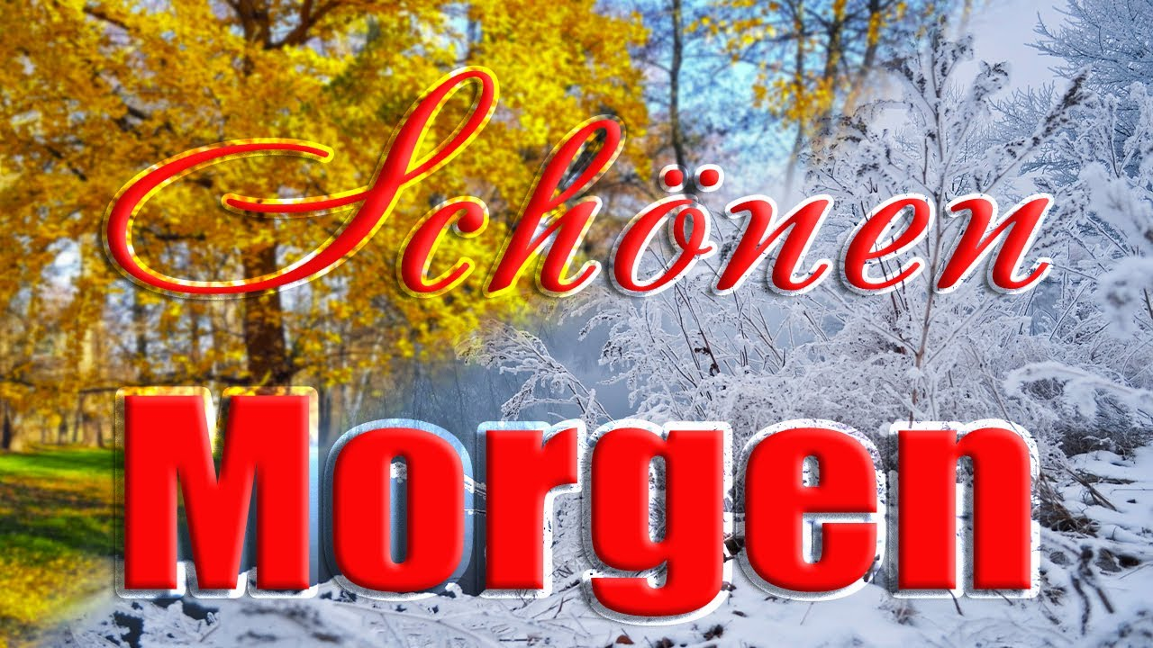 Guten Morgen Im Winter