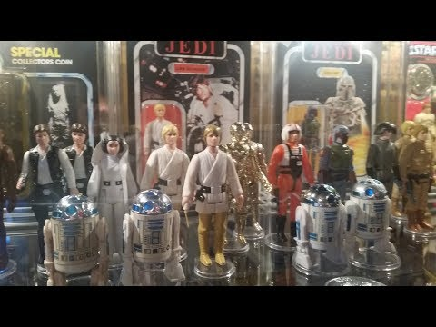 Black Hole Vintage Kenner Star Wars Toys Haul and Unboxing PART 1