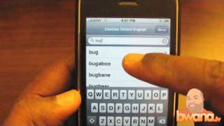 Lightning Fast Word Lookups With COE Dictionary for iPhone/iPod Touch