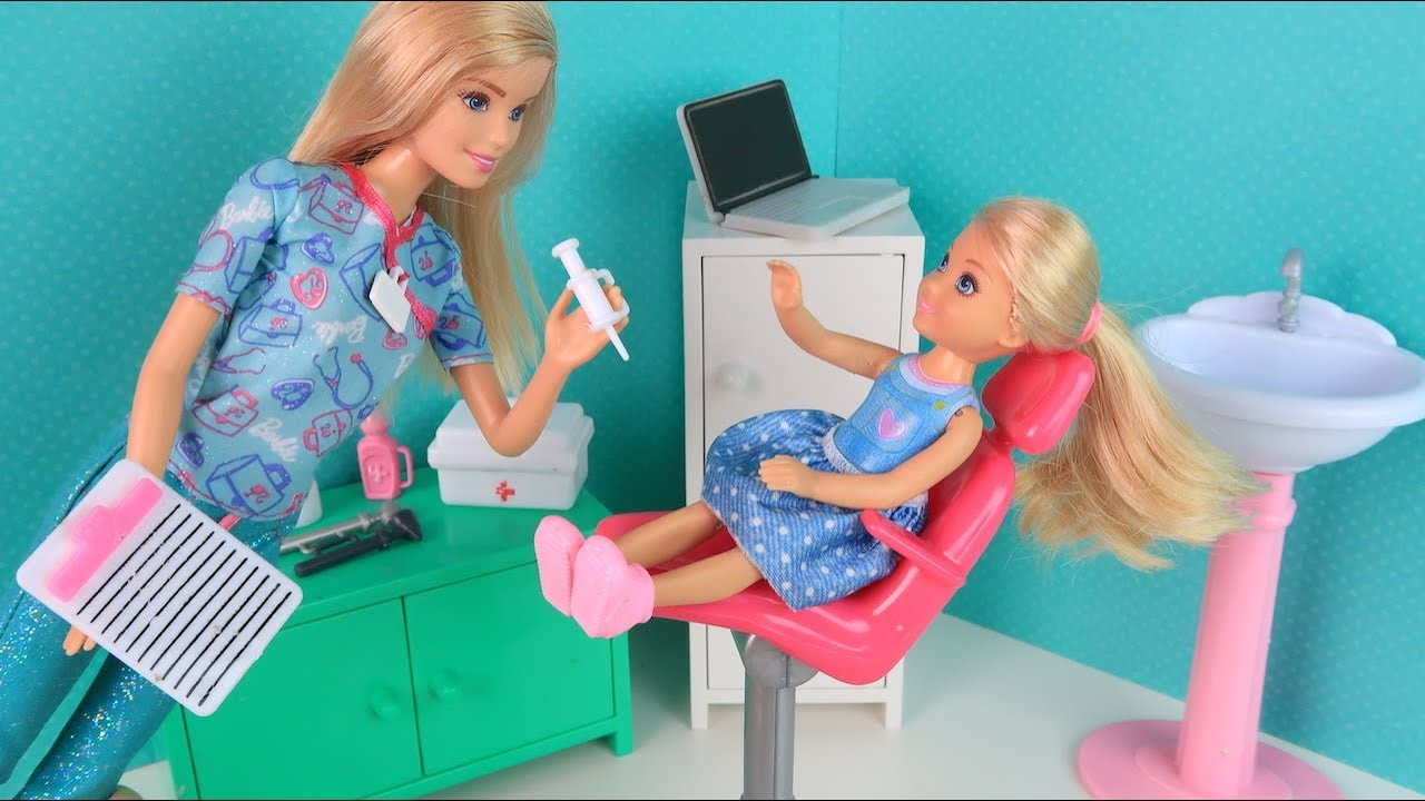 СТРАШНАЯ ПРИВИВКА Мультик #Барби Сериал Школа Куклы ...