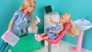 СТРАШНАЯ ПРИВИВКА Мультик #Барби Сериал Школа Куклы Игрушки для девочек Ikuklatv