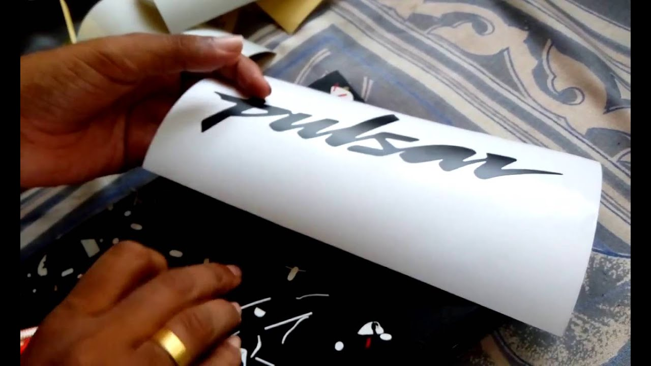 Creating the bajaj pulsar logo sticker maya stickers madelikeart