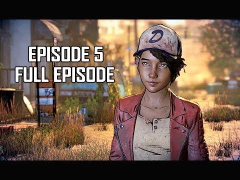 The Walking Dead A New Frontier Episode 5 Walkthrough - FULL EPISODE