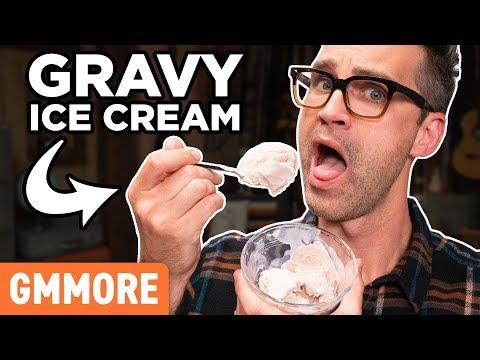 Gravy Ice Cream Taste Test