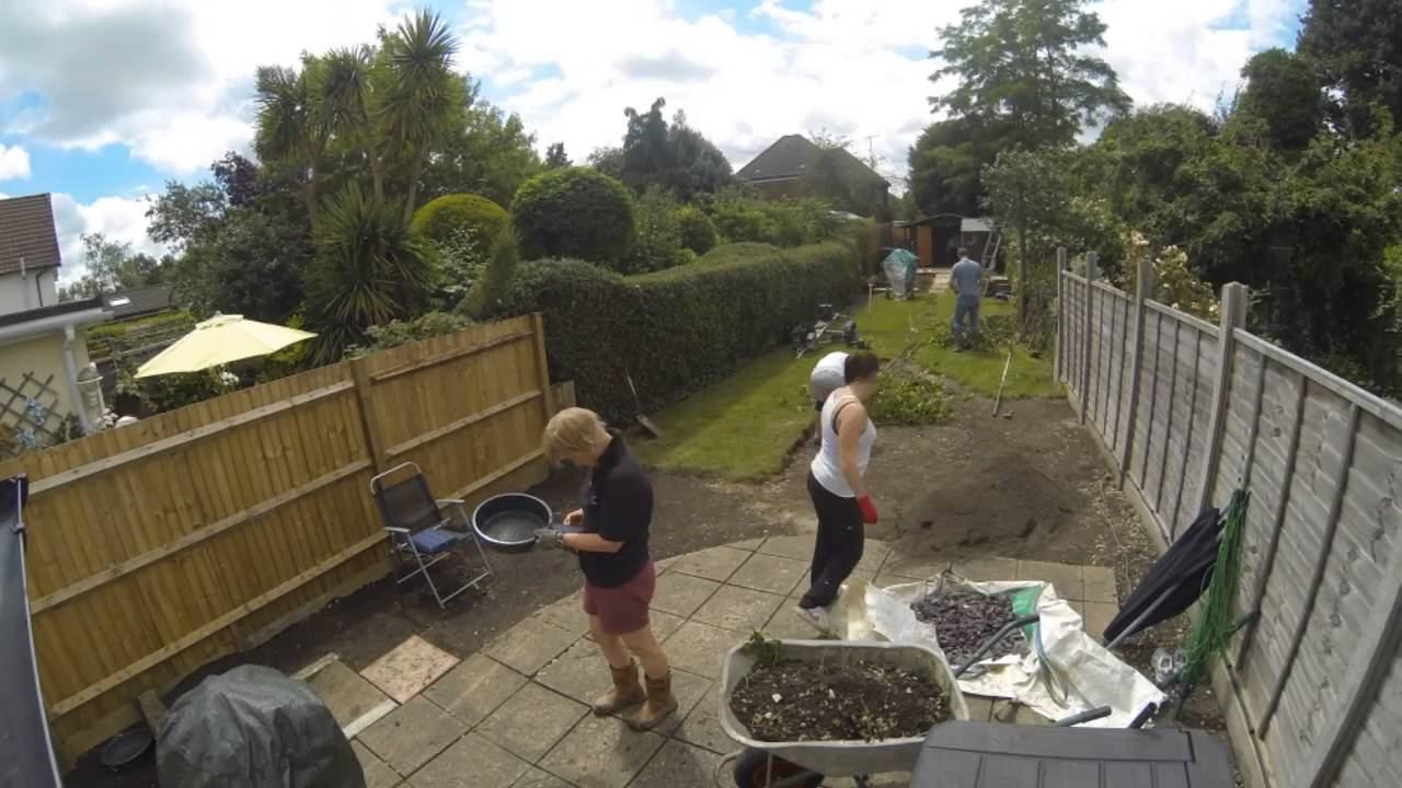 garden clearing time lapse youtube