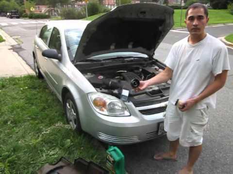2005 Chevy Cobalt 7 500 Mile Oil Change Part 2