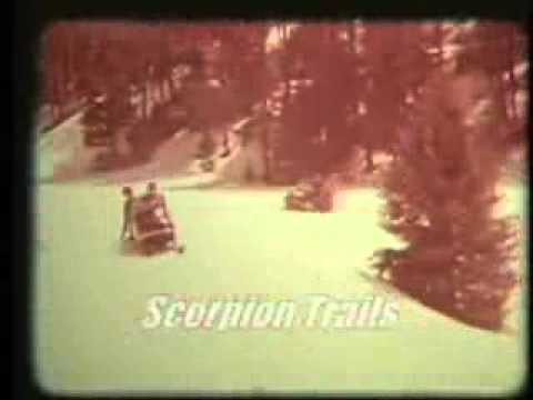 Scorpion Snowmobile 1969 50 Seconds Youtube