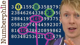 Strings and Loops within Pi - Numberphile