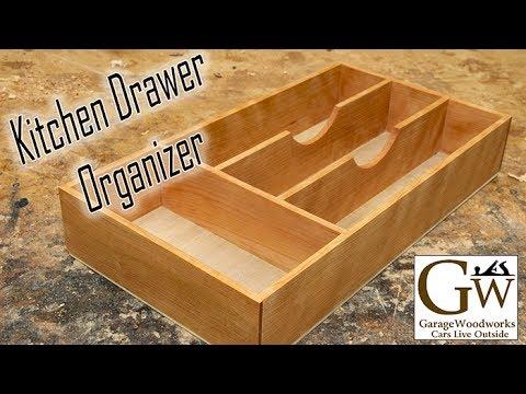 Build a Kitchen Drawer Organizer
