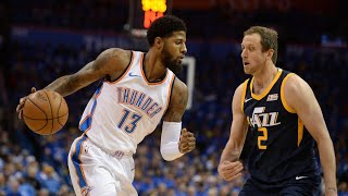 "Oklahoma City Thunder Vs Utah Jazz Full Game Highlights/Game 1/ 2018 NBA Playoffs ""I Don't Like"""