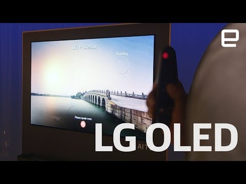 New LG OLED TVs at CES 2018