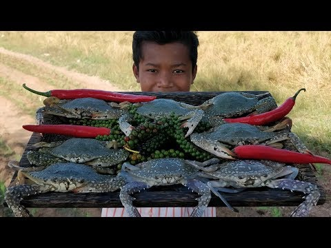 Crab Recipe / Delicious Cooking Sea Crab With Young Green Pepper