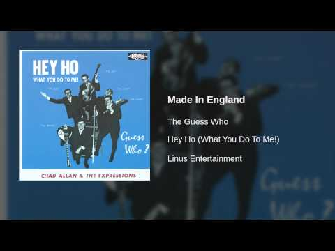 The Guess Who - Made In England