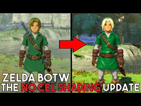 Zelda BOTW - Cel Shading Removal Upgrades, New Character Customizer & MORE