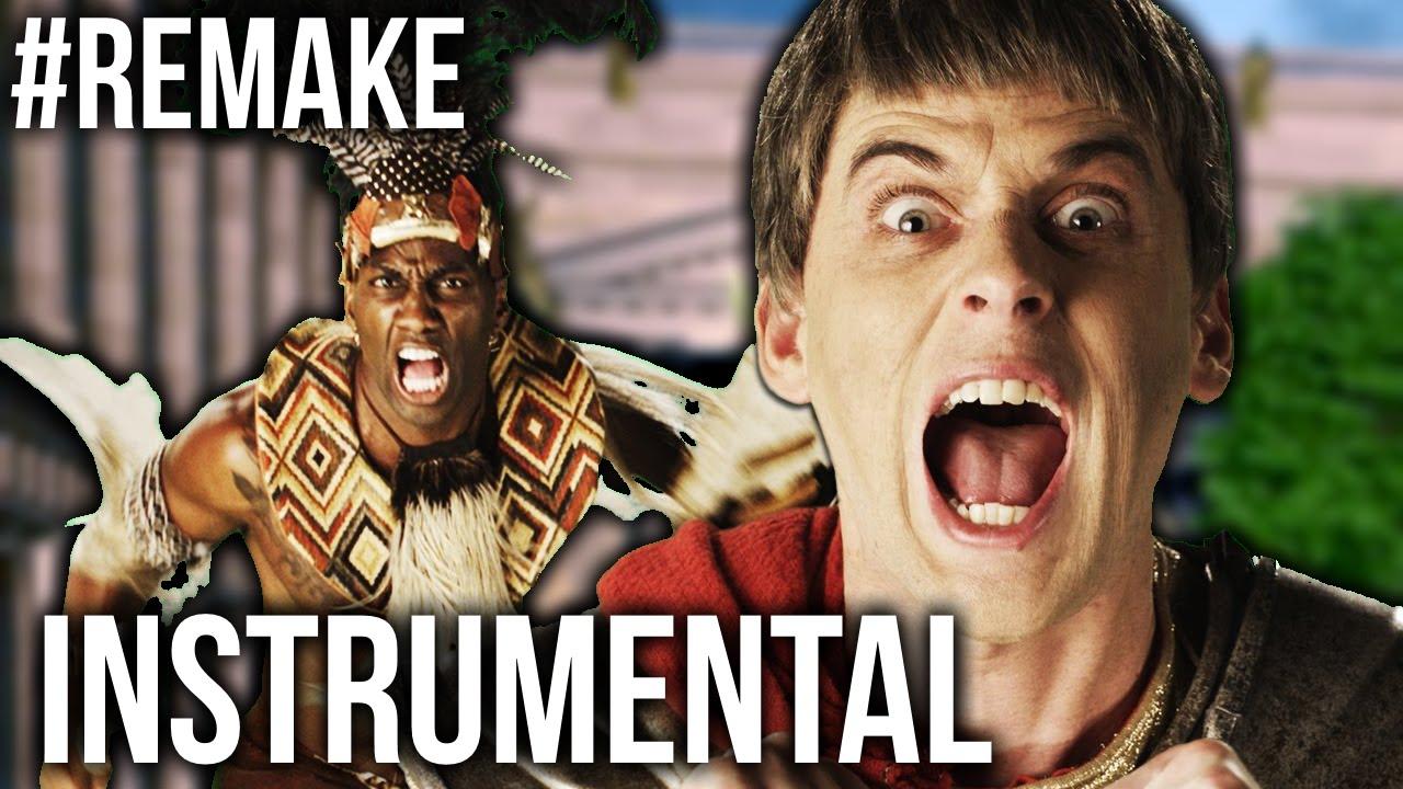 #Remake [ Unofficial Instrumental ] Shaka Zulu vs Julius Caesar. ERB Season 4