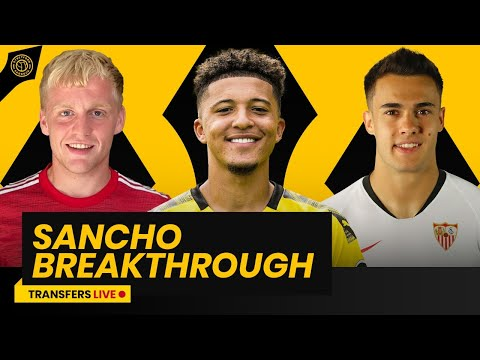 Manchester United Closer To Signing Jadon Sancho | Transfers Live!
