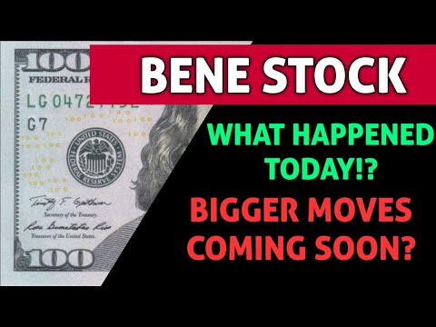 Download BENE STOCK IMPORTANT ANALYSIS! - WHAT HAPPENED TODAY & WHERE DO WE GO NOW WITH THIS STOCK *WARNING!*