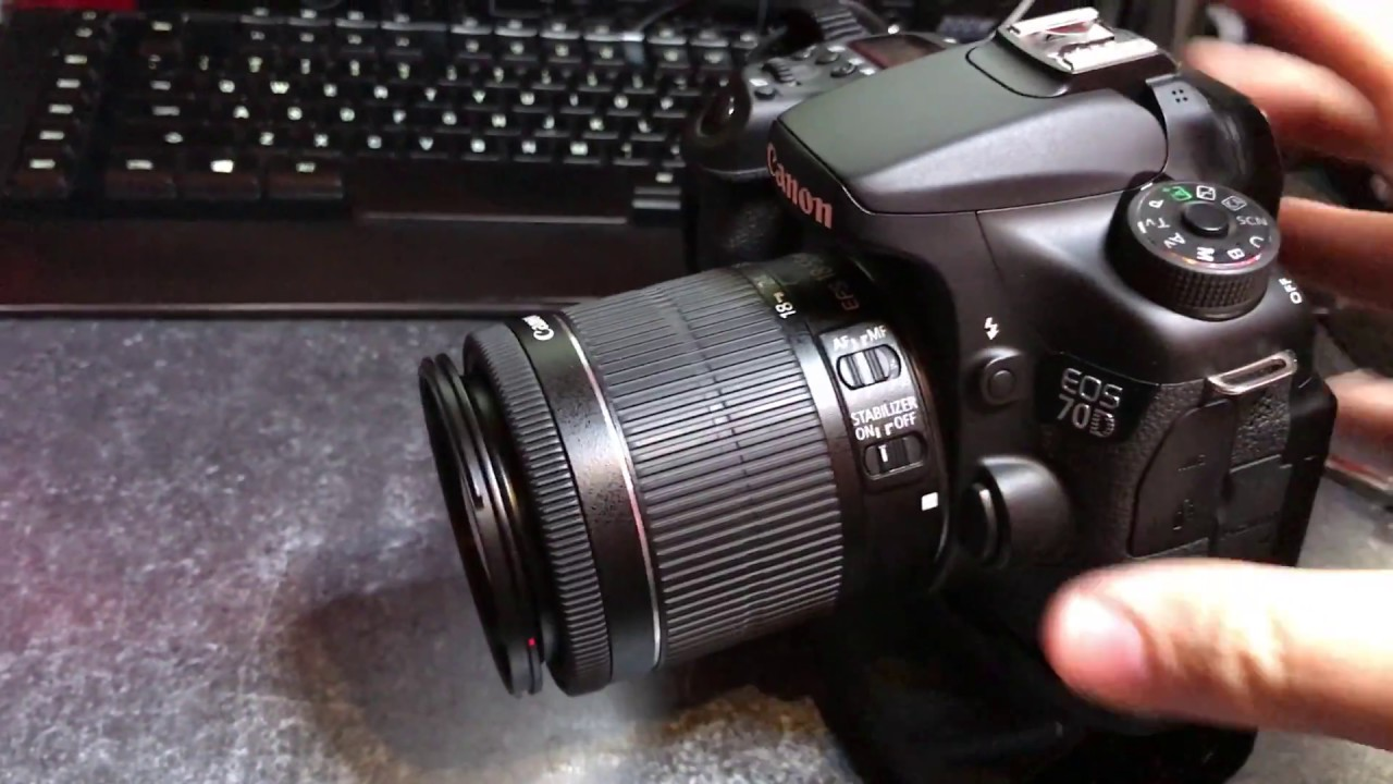 Canon 70D Camera will not power up or come on - How to fix it!