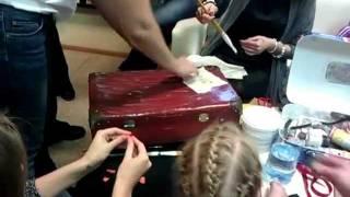 Тина Хабарова чемоданный мастер-класс