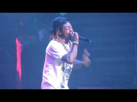 Lil Wayne live @ the Toyota Center! Kennewick, WA 2/23/17