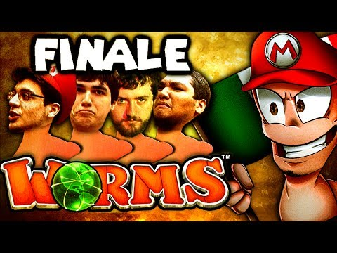 FINALE: The Waterslide - Part 1 (Worms Clan Wars: The Derp Crew - Part 100)