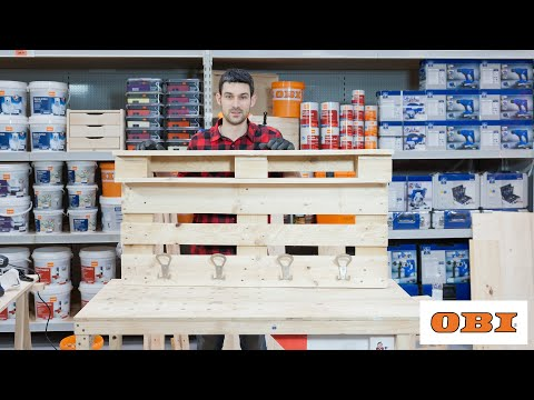 Appendiabiti Obi.Obi Mattley Progetti Creativi In Legno Youtube
